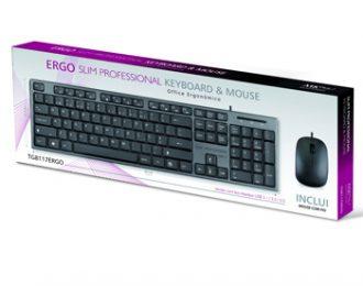 MKPLUS SLIM PROFISSIONAL + RATO, USB – TG8117ERGO
