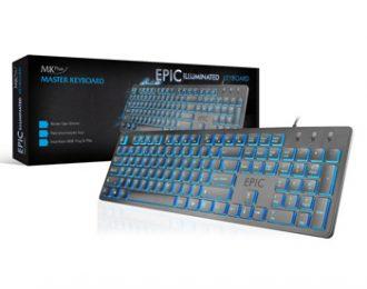 MKPLUS SLIM ILUMINADO, USB – TG8120EPIC