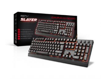 GAMER MKPLUS TG8120SLAYER, 105 TECLAS, USB