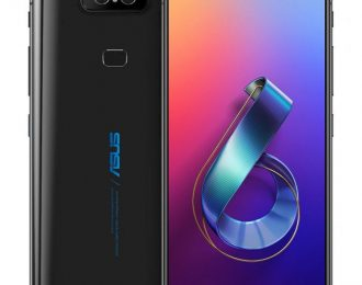 "ASUS Zenfone 6 Midnight Black – 6.4"" 19,5:9 S IPS+ Full HD+"