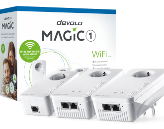 Devolo Magic 1 WiFi,Multiroom Kit, Wi-Fi mesh – PT8374
