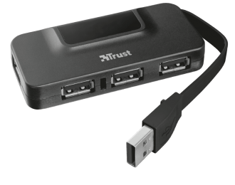 TRUST HUB USB OILA 4 PORTS