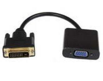 CONVERSOR DE DVI-D M P/ VGA F, 0.15M,LIG. GOLD, PR. BLK NBA310B