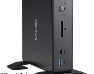 SHUTTLE INTEL I3 8145U 3.9GHZ HDD 2.5 M.2 USB3.2 RS232 – PFB-NC10U301