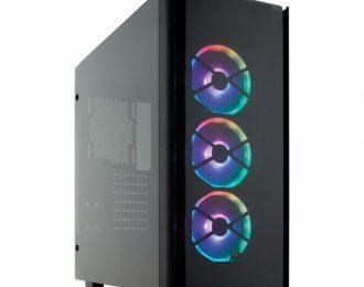 Corsair Obsidian 500D RGB SE Premium Vidro Temperado Preta