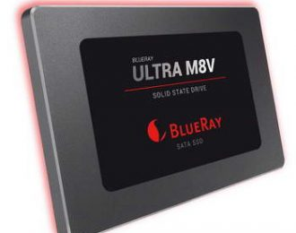 256 GB BLUERAY ULTRA M8V SATA, MAX 550/500MBPS TLC