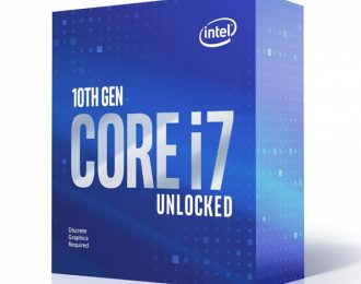 Intel i7-10700KF 8-Core 3.8GHz c/ Turbo 5.1GHz 16MB LGA1200