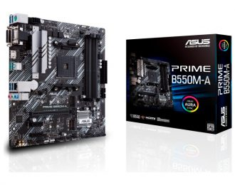 ASUS PRIME B550M-A AMD AM4 B550 4DDR4 USB 3.2