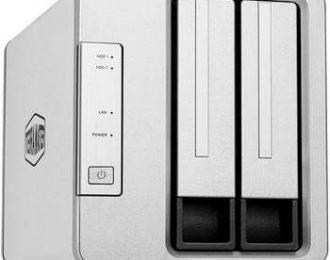 TERRAMASTER F2-210 P/2 HDD, 1X GIGA LAN,RAID 0,1
