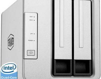 TERRAMASTER F2-422 P/2 HDD, 1X 10GB + 2X 1GB, RAID 0,1