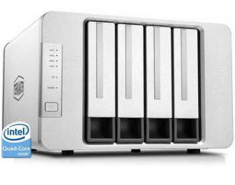 TERRAMASTER F4-422 P/4 HDD, 1X 10GB, 2X 1GB,RAID 0,1,5