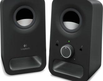 Logitech Z150 Stereo 2.0 6W Peak / 3W RMS Pretas