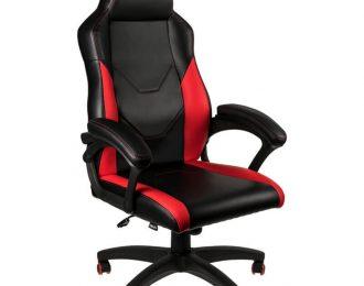 Cadeira Nitro Concepts C100 Gaming Preto / Vermelho – NC-C100-BR