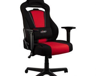 Cadeira Nitro Concepts E250 Gaming Preta / Vermelho – NC-E250-BR
