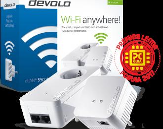 Devolo dLAN 550 WiFi Starter Kit Powerline – PT9638
