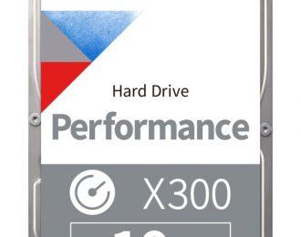 10 TB TOSHIBA PERFORMANCE X300 7200RPM 256MB